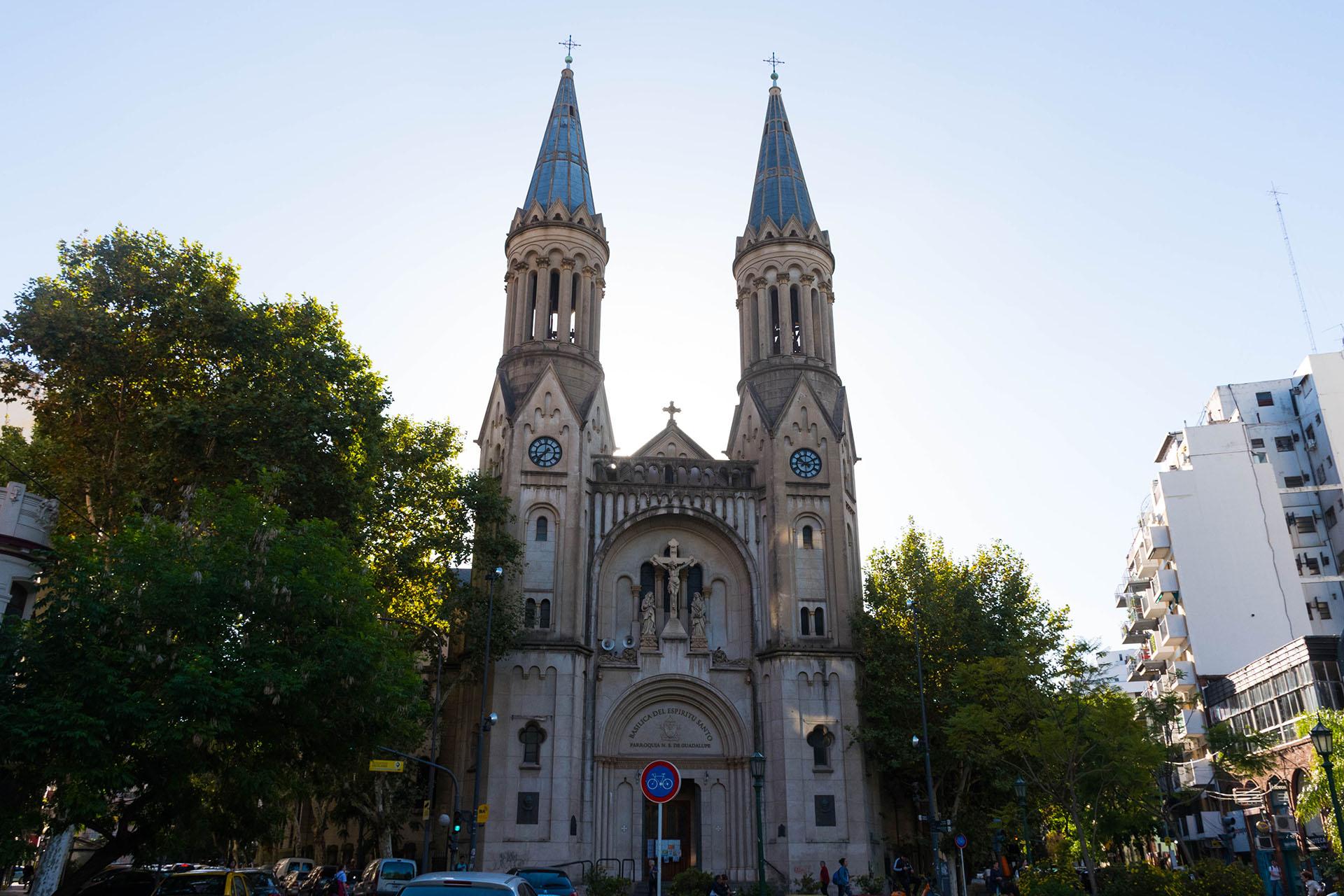 La iglesia Nuestra Señora de Guadalupe muestra otra faceta de Palermo
