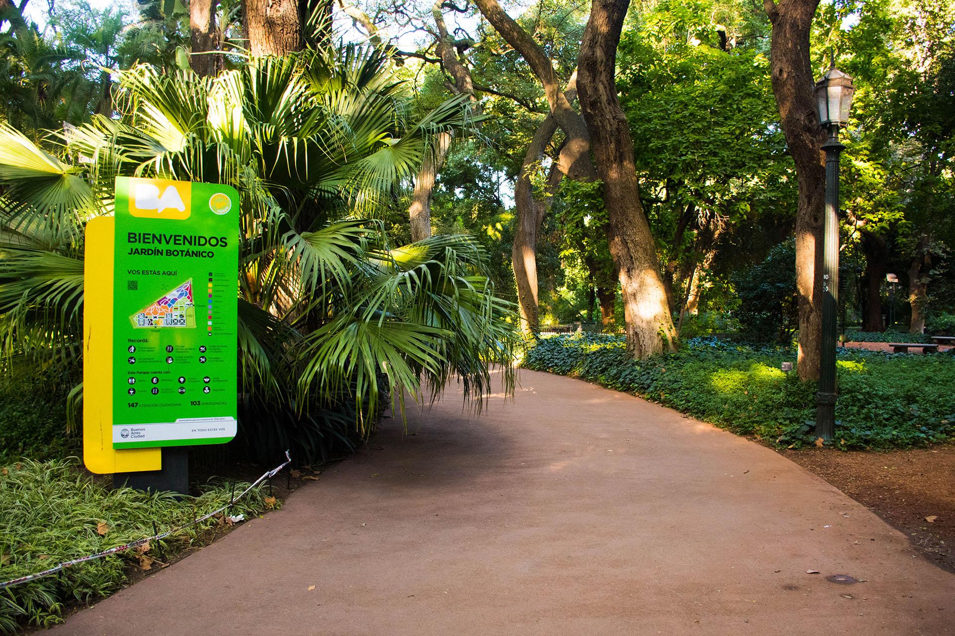 El Jardín Botánico lleva el nombre de Carlos Thays en honor al paisajista que lo concibió