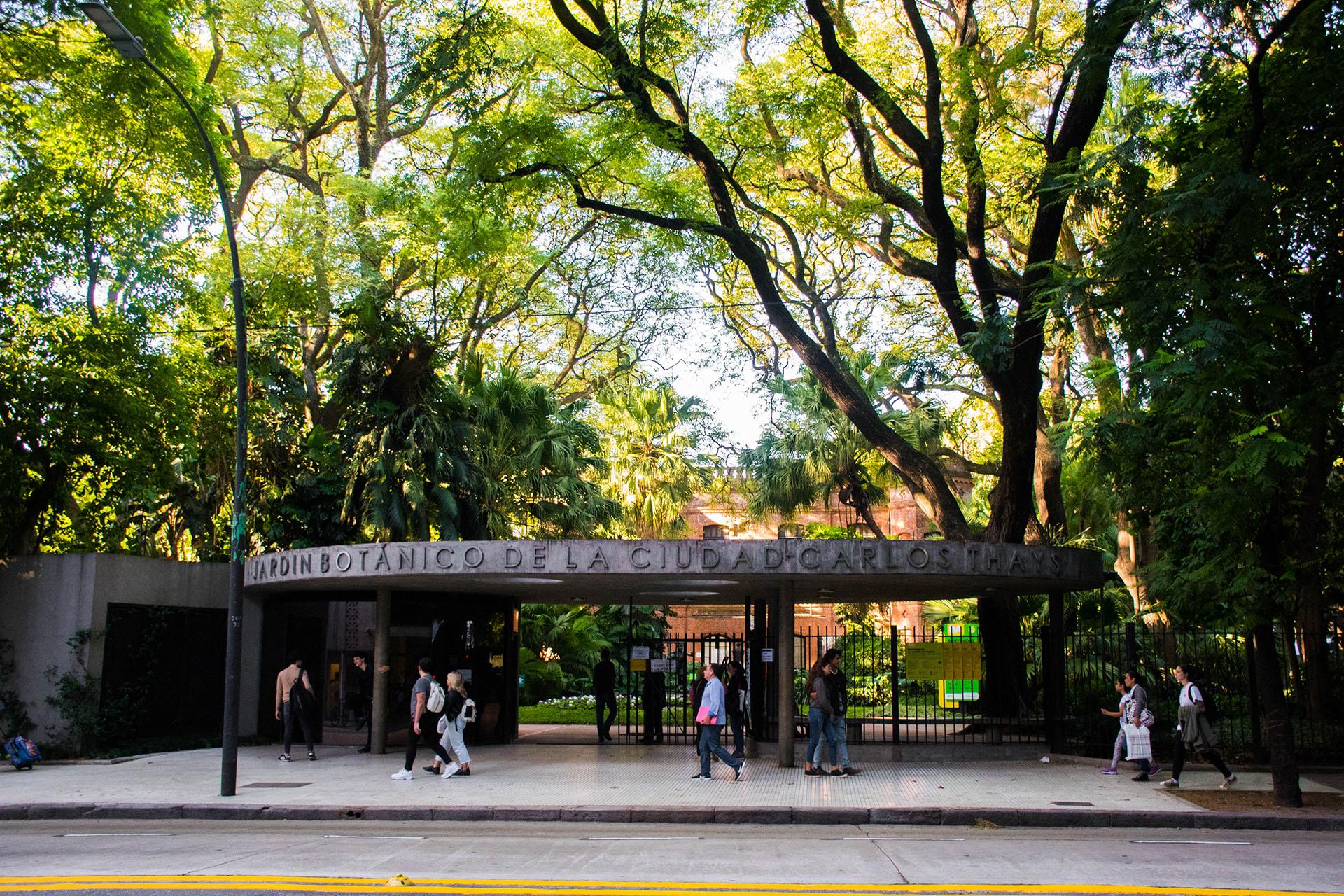 El Jardín Botánico, otro espacio verde que ofrece Palermo