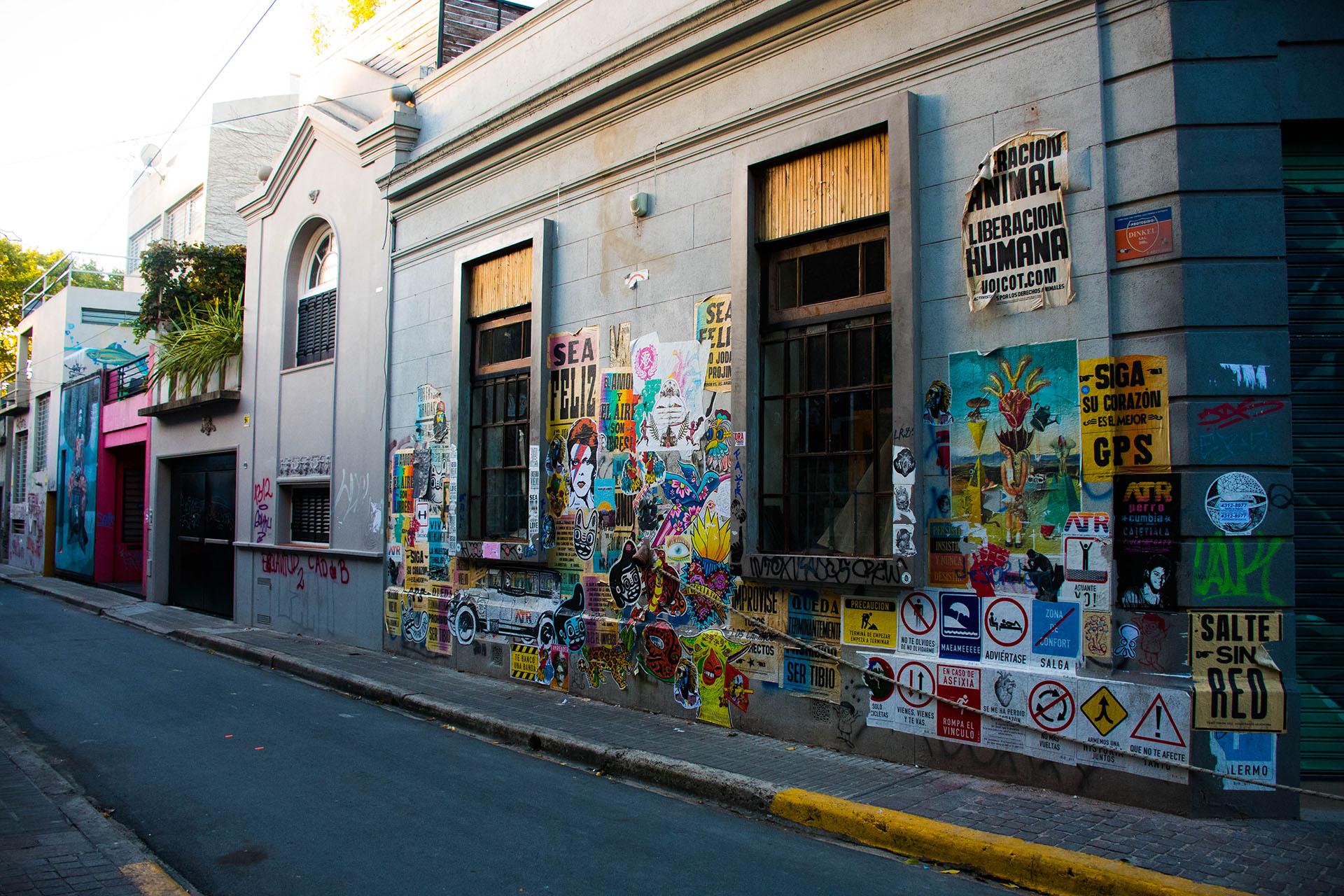 En Palermo Viejo, las distintas expresiones artísticas copan las calles