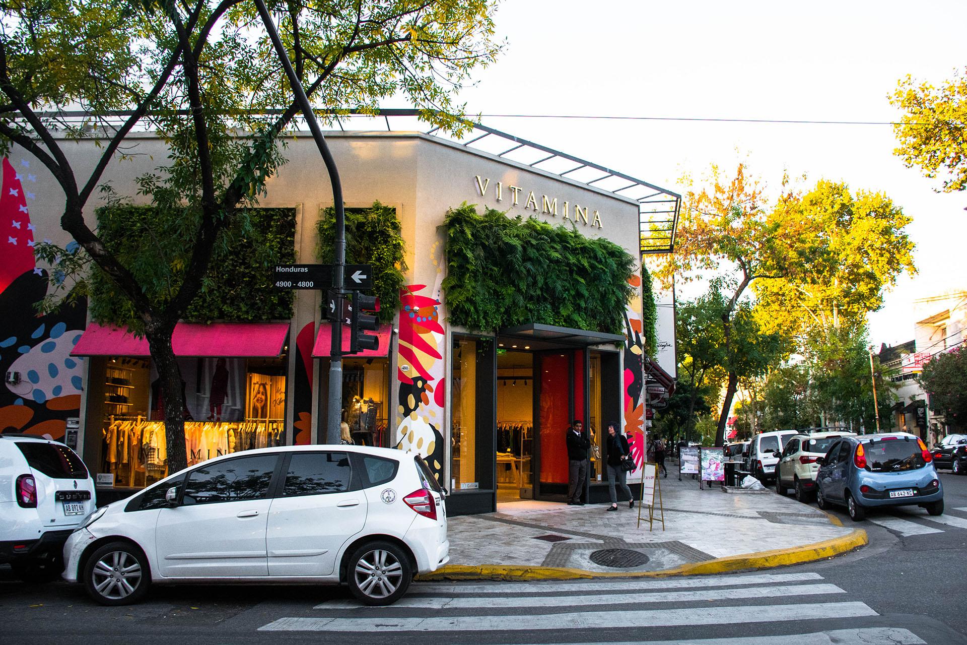 Cerca de Plaza Armenia, Palermo Soho ofrece una gran cantidad de tiendas de ropa