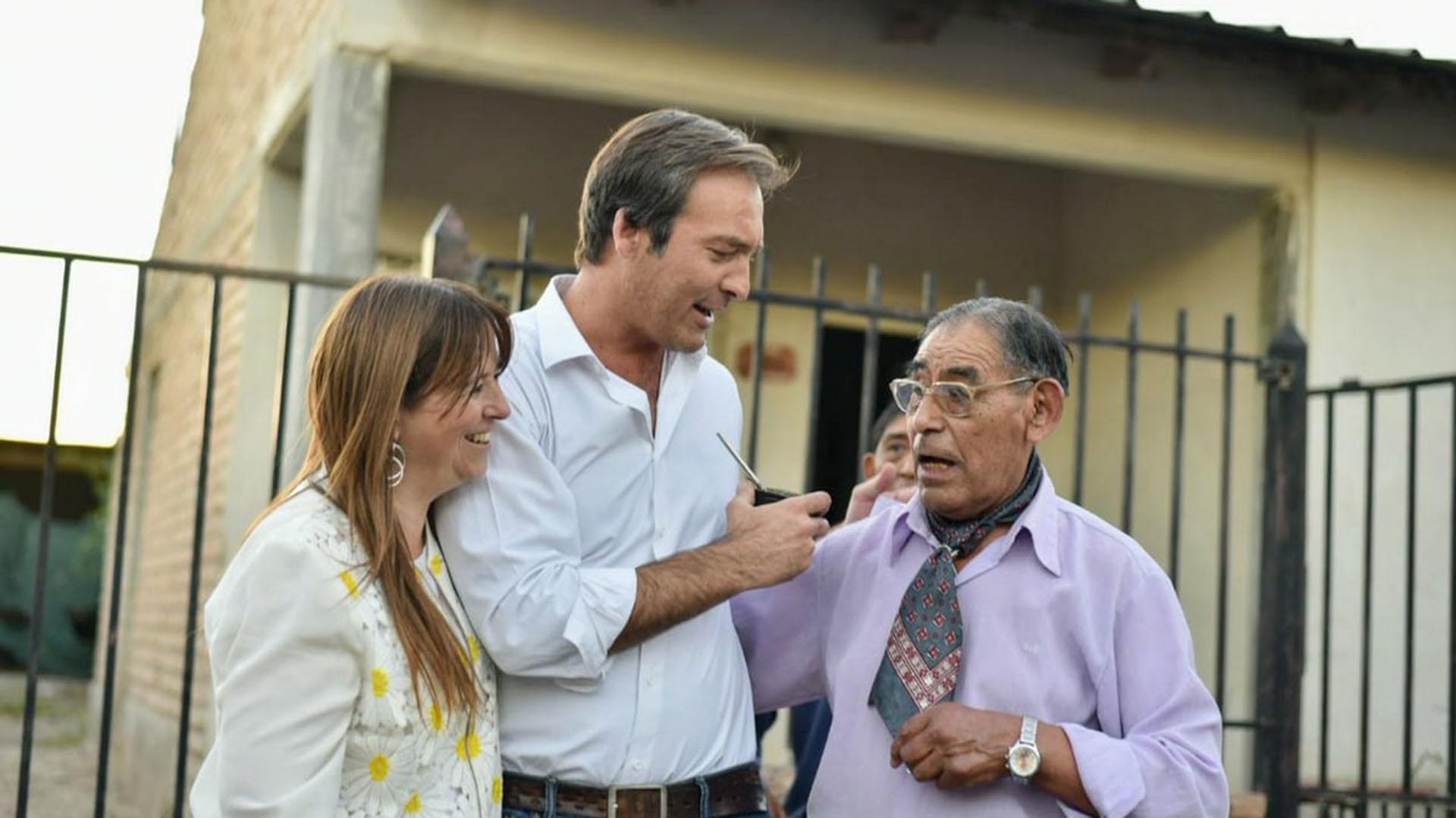 El candidato peronista Martín Soria (@SoriaEnAccion)