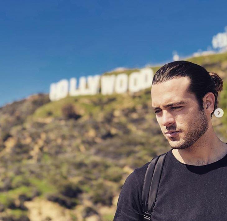 Pablo Lyle por un paseo por Estados Unidos (Foto: Instagram)
