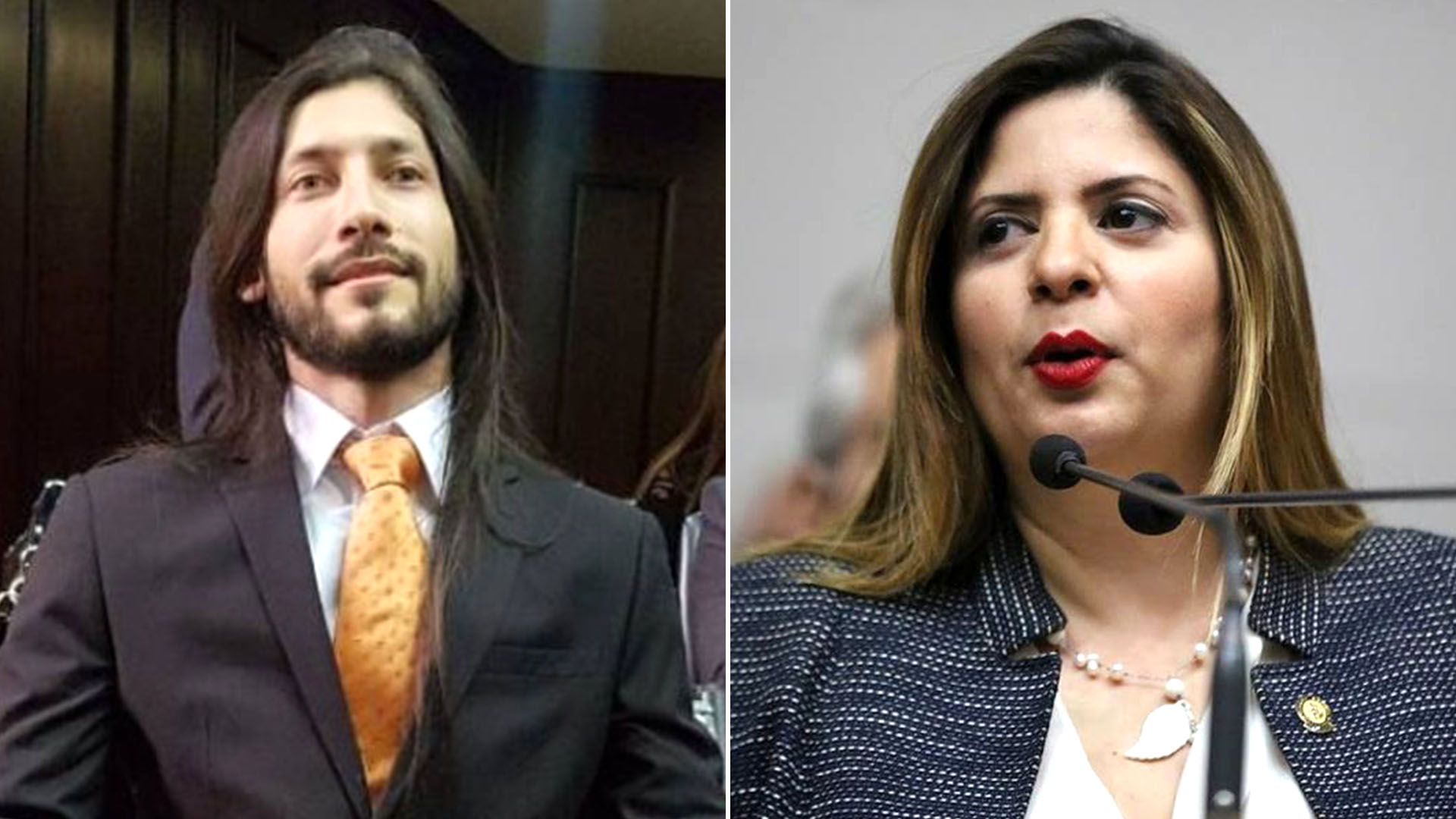 Renzo Prieto y Nora Bracho