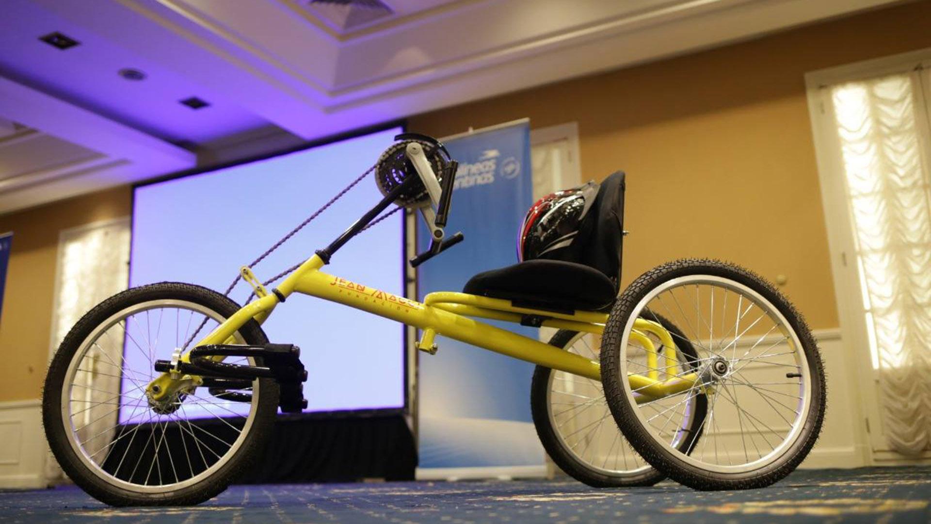 Construirán y ensamblarán bicicletas adaptadas