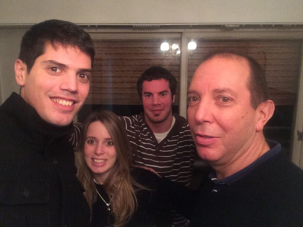 Adrian, Julieta, Esteban y Jorge Continello