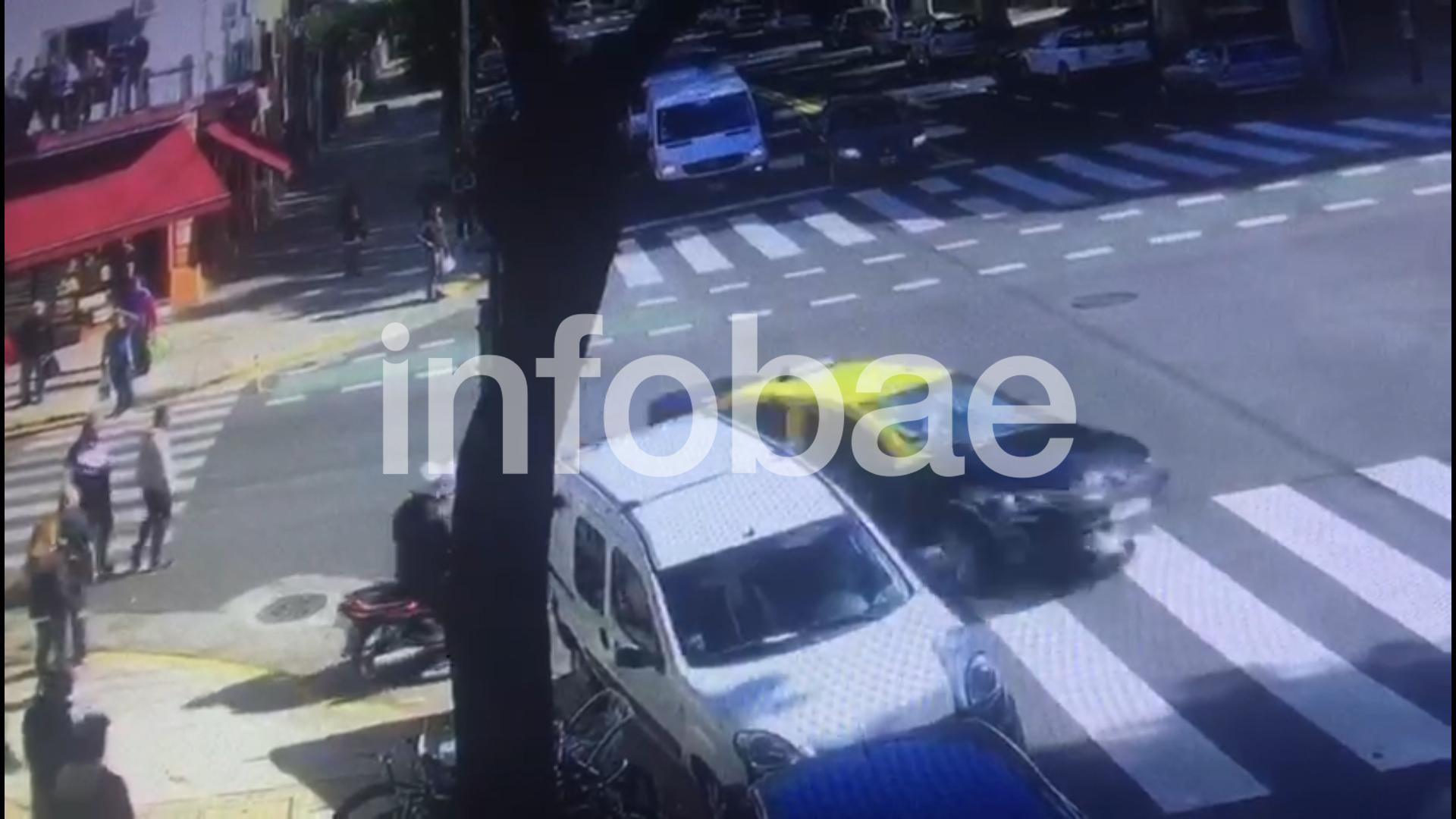 Rímolo se dio a la fuga tras chocar el vehículo de Rojas
