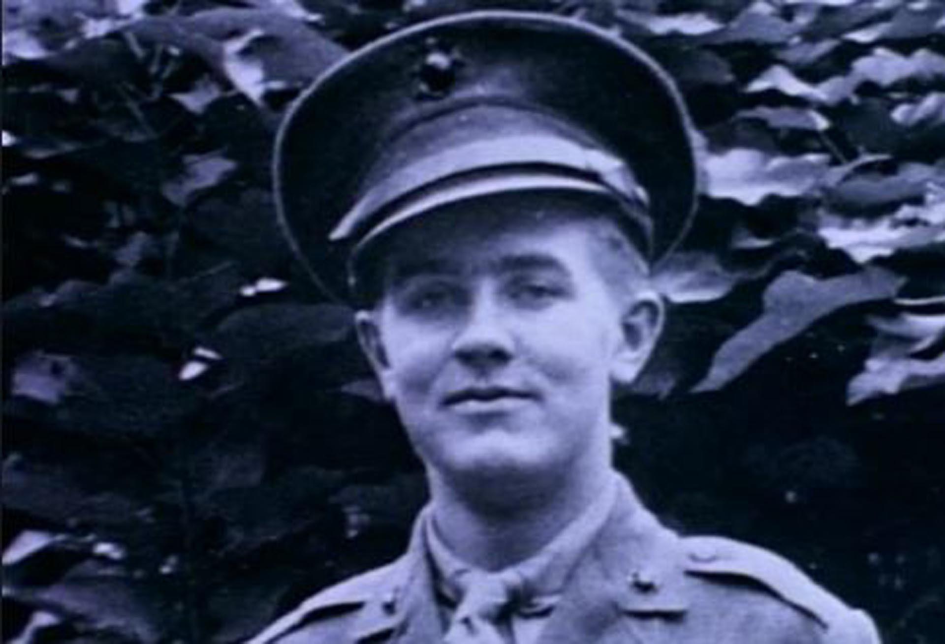 Ed Wood durante el servicio militar