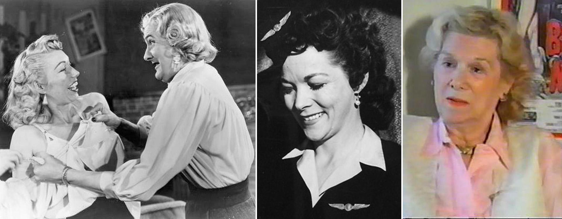 Dolores Fuller y Norma McCarty, ambas fueron dirigidas por Wood, y Kathy O'Hara