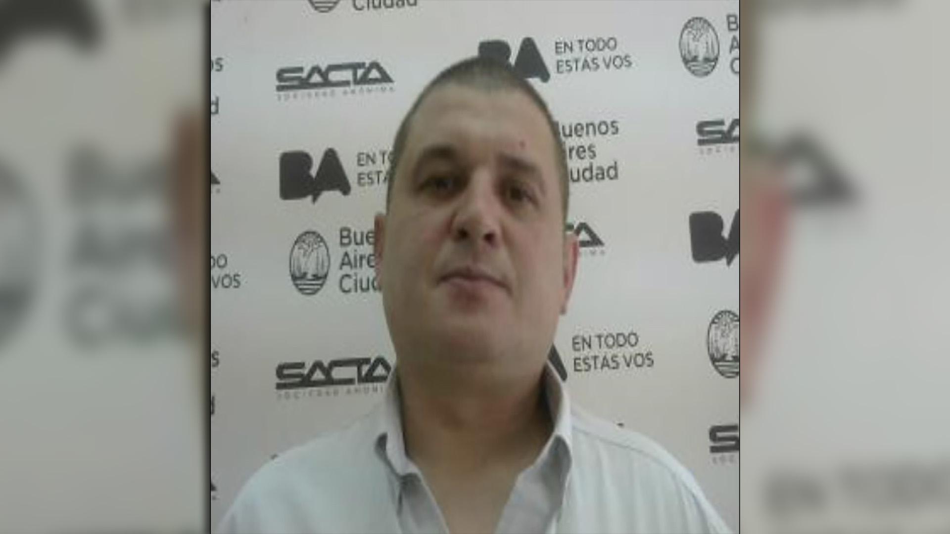 Claudio Daniel Rímolo es el chofer que agredió al automovilista en Villa Urquiza