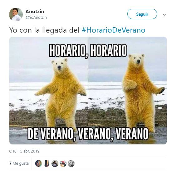 Memes horario de verano 2019 mx 9