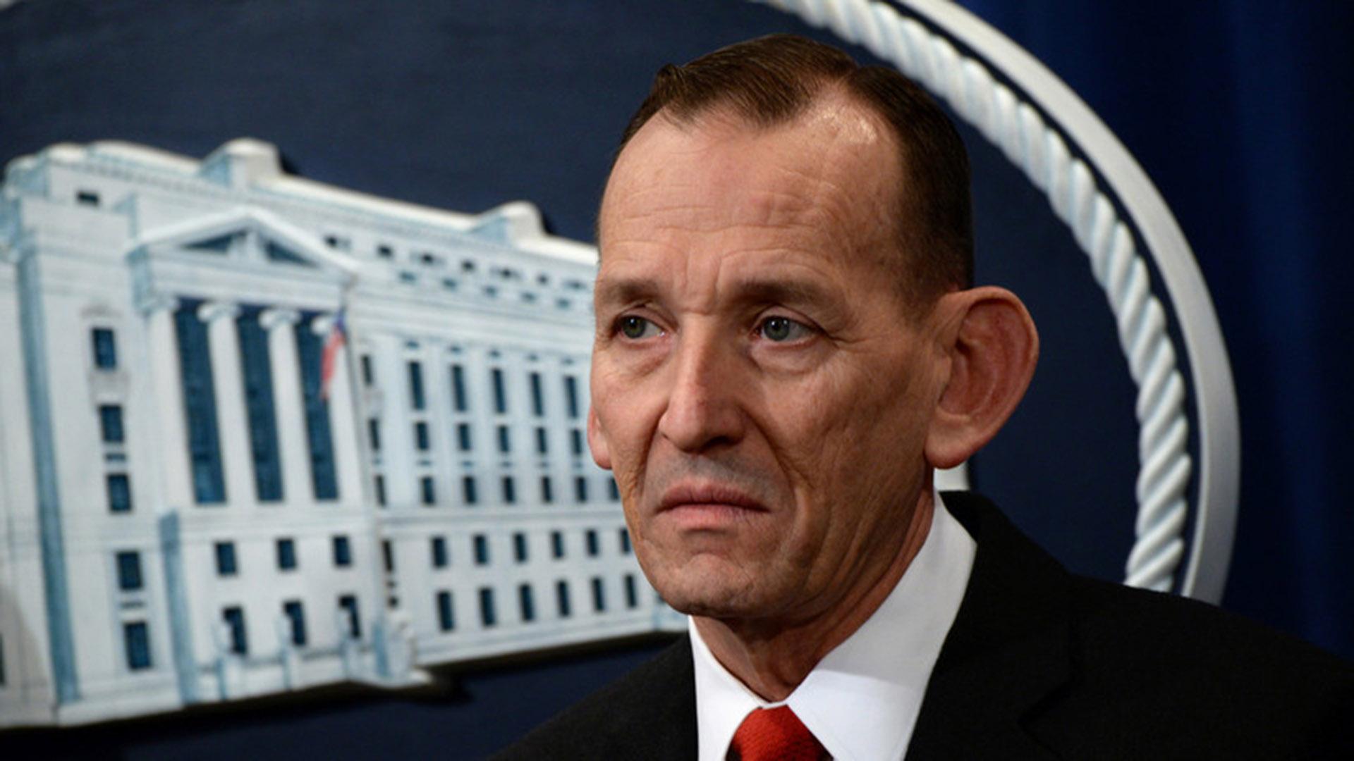 Randolph Alles, el saliente director del Servicio Secreto