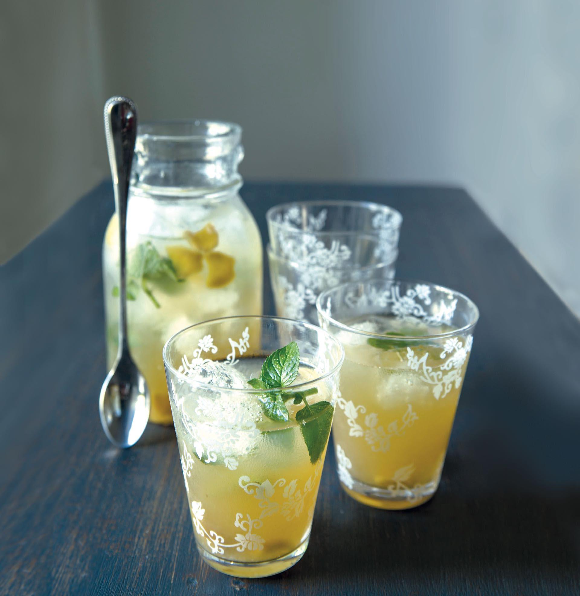 Limonada con jengibre.