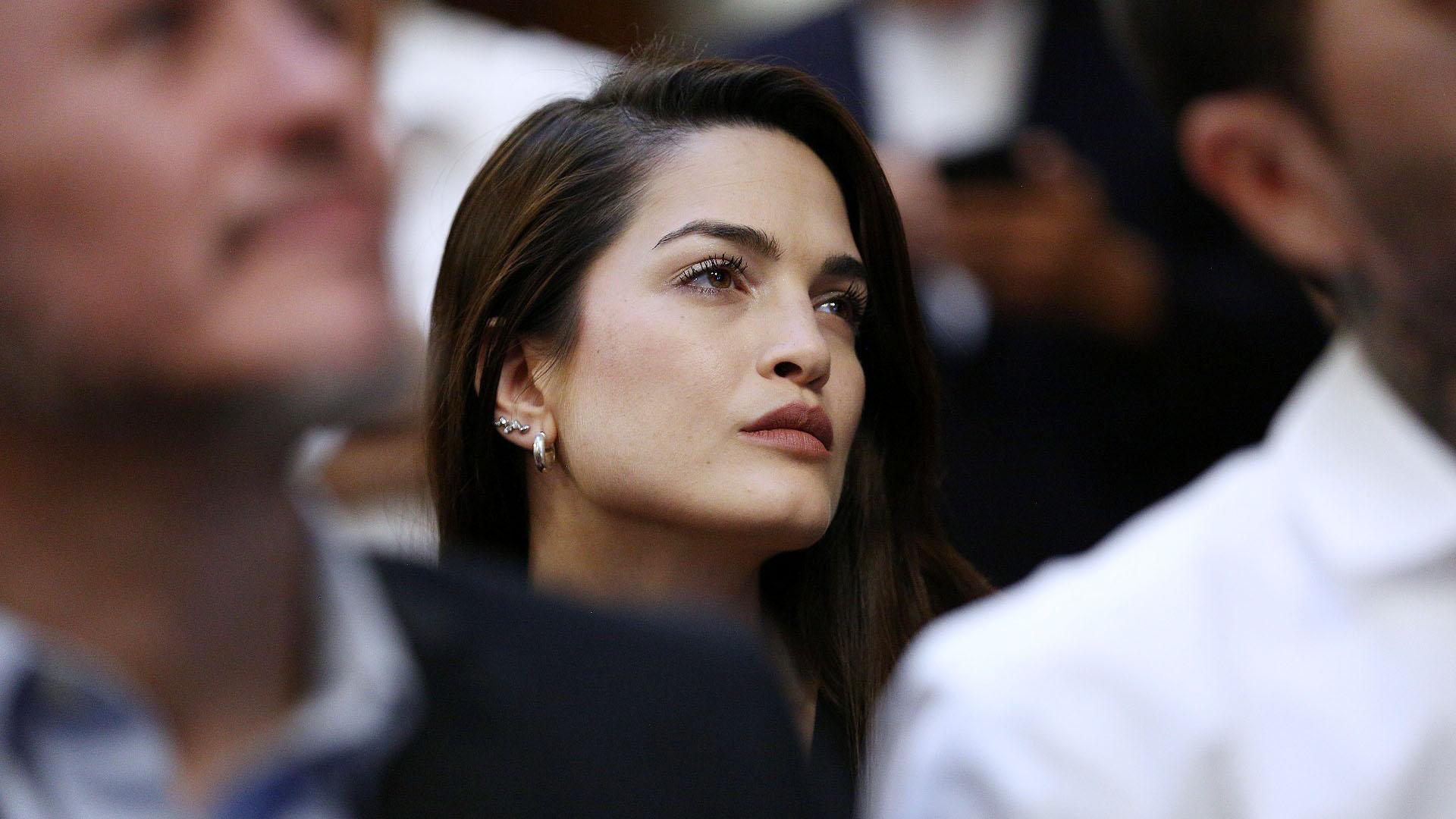 Carla Moure, pareja de Sebastián Ortega