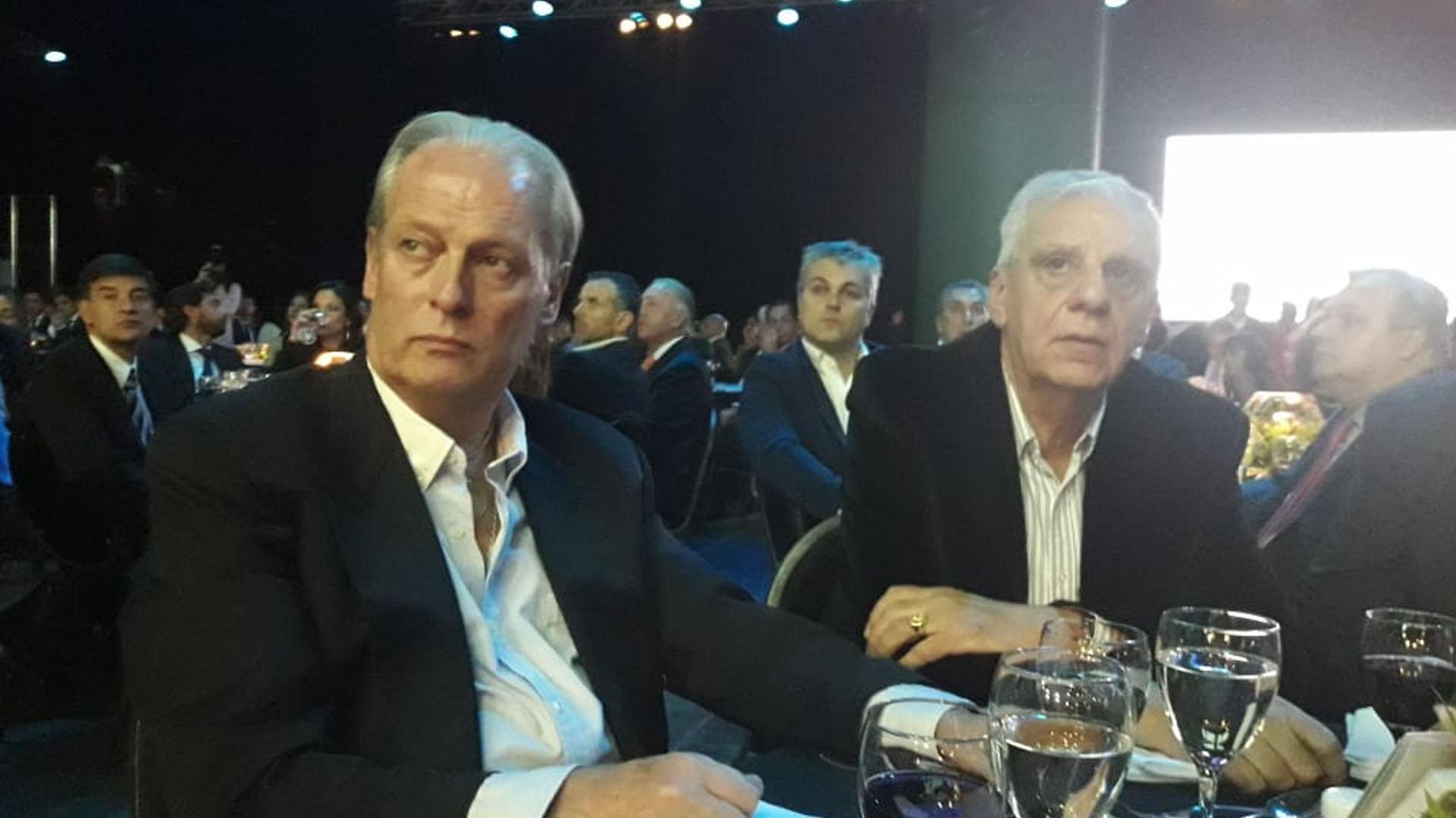 Los sindicalistas Andrés Rodríguez y José Luis Lingeri