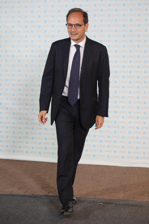 El embajador de Italia en Argentina, Giuseppe Manzo
