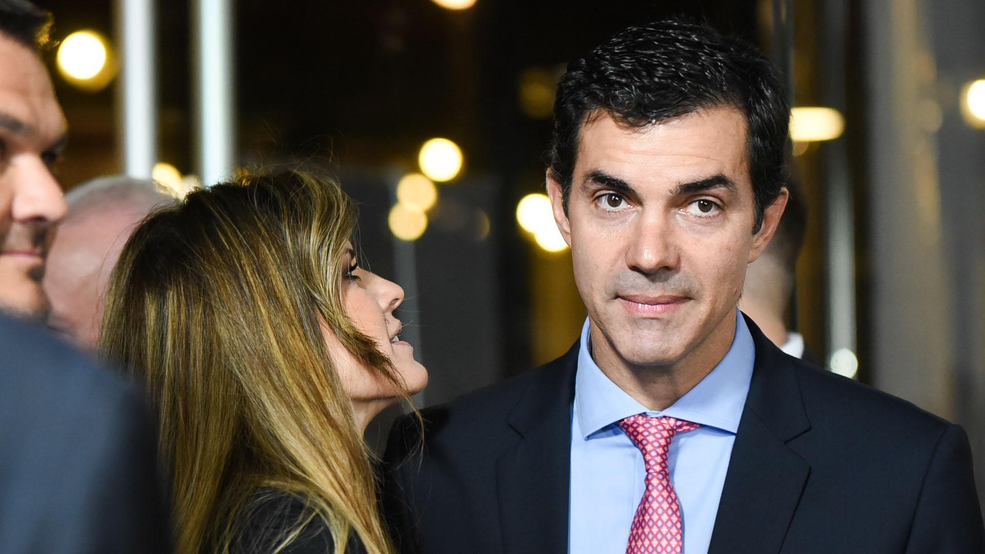 Isabel Macedo y Juan Manuel Urtubey
