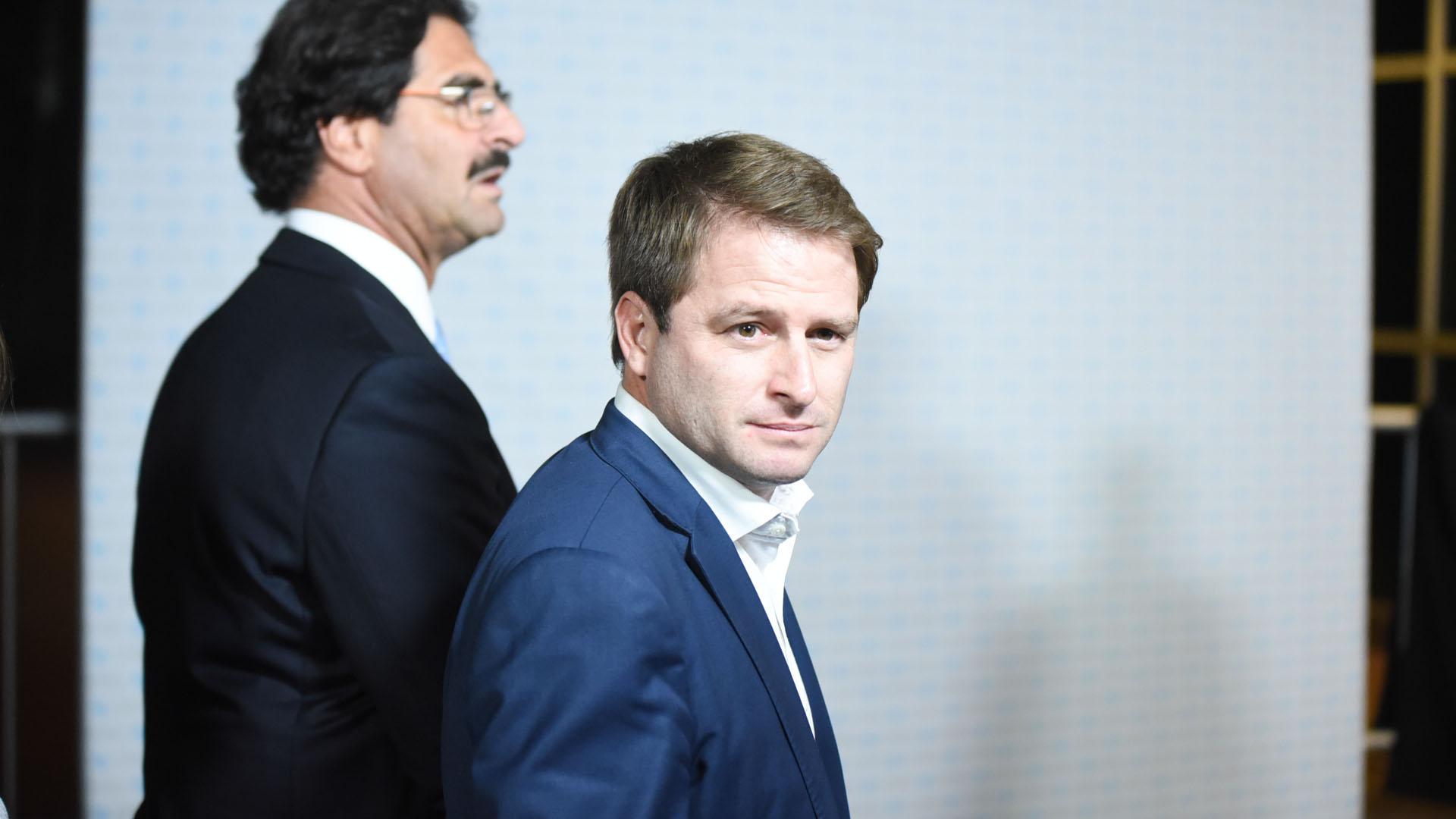 Alex Campbell, subsecretario de Gobierno y Asuntos Municipales de la provincia de Buenos Aires