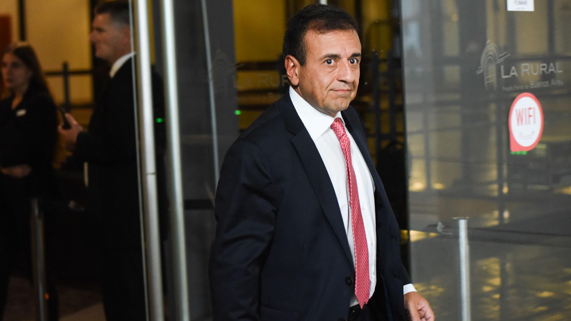 El ex vicejefe de Gabinete, Mario Quintana