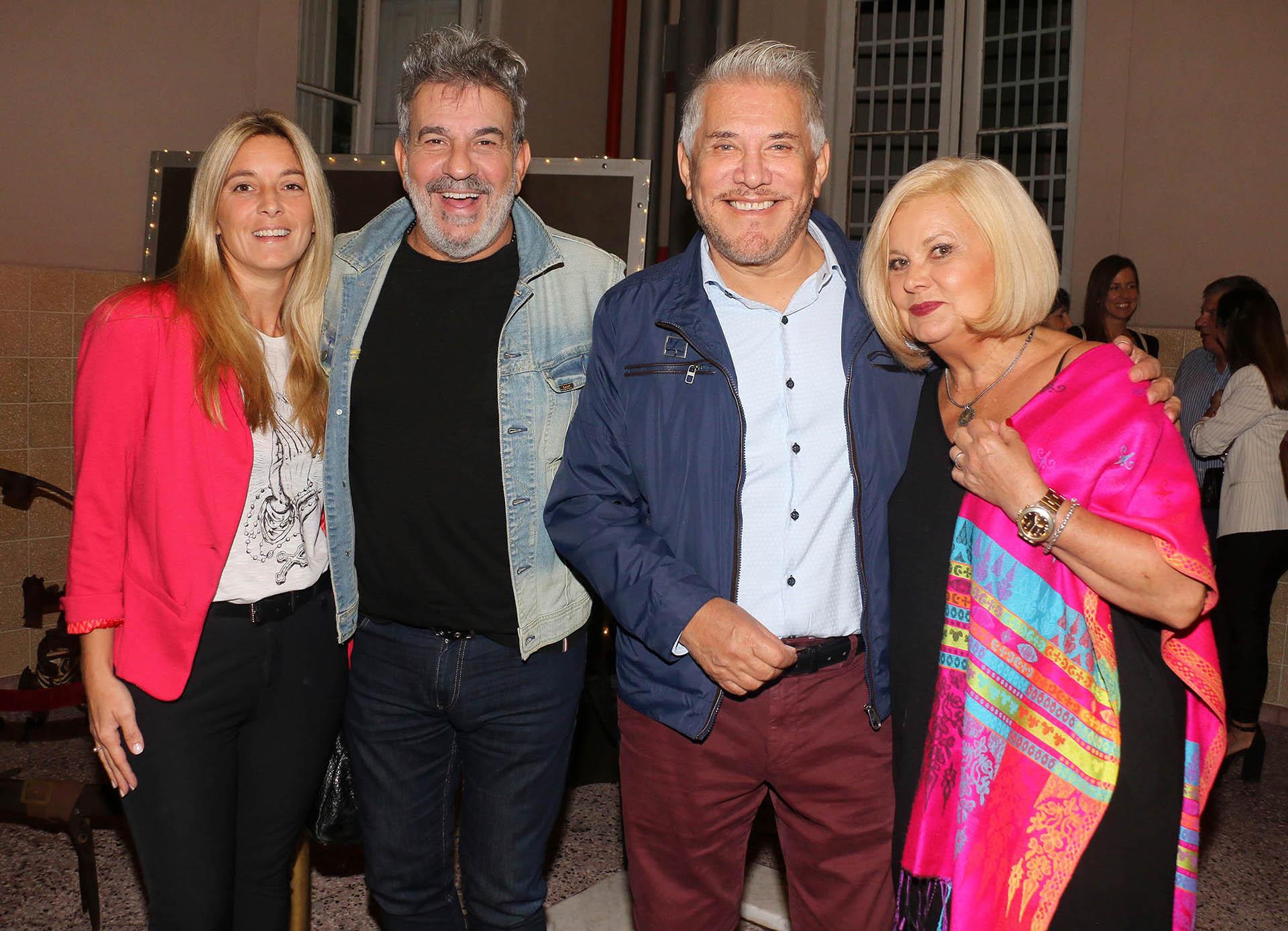Marcela Gargano, Miguel Ángel Rodríguez, Arnaldo André y Marta Gonzalez