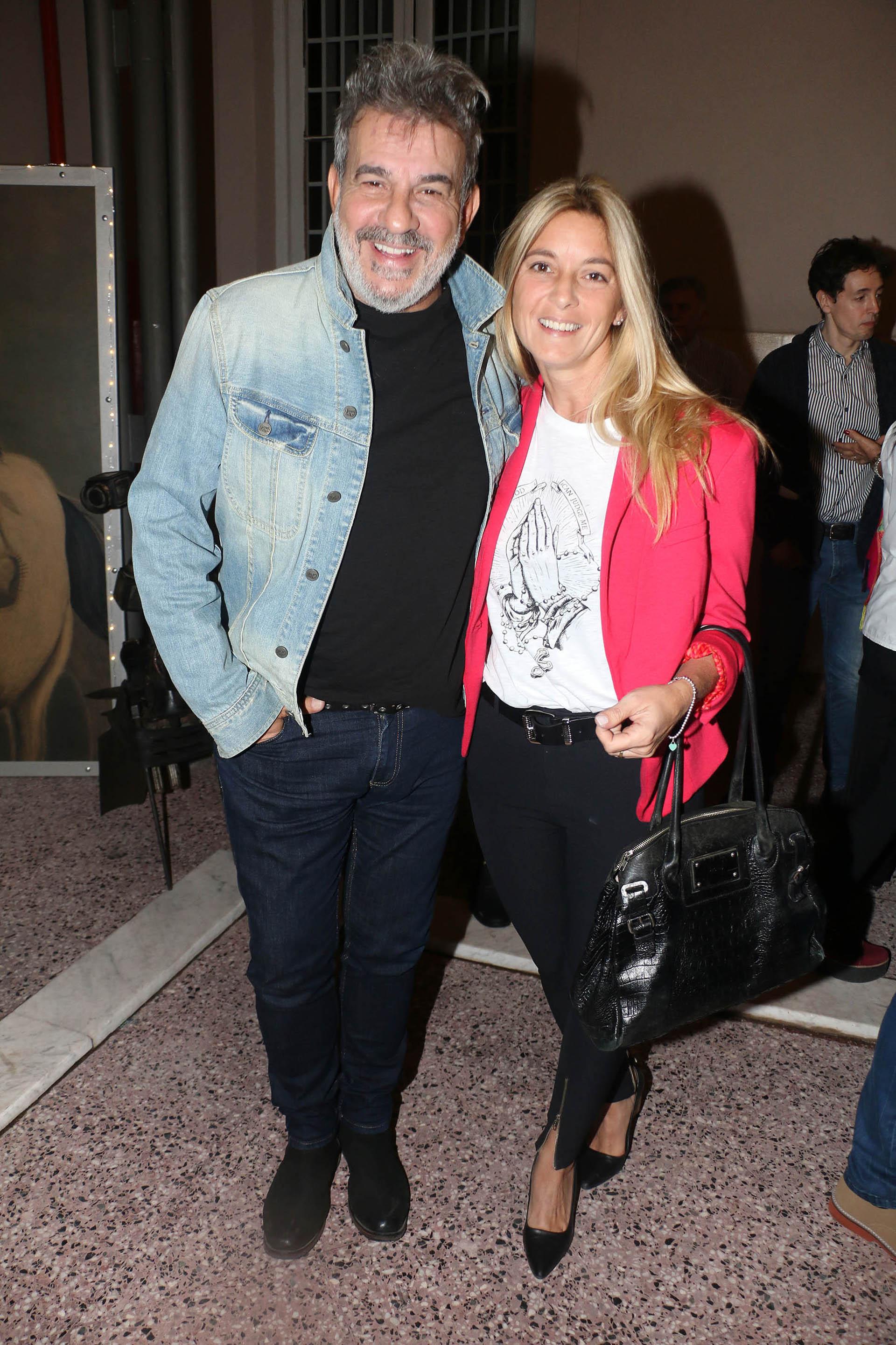Miguel Ángel Rodríguez y Marcela Gargano