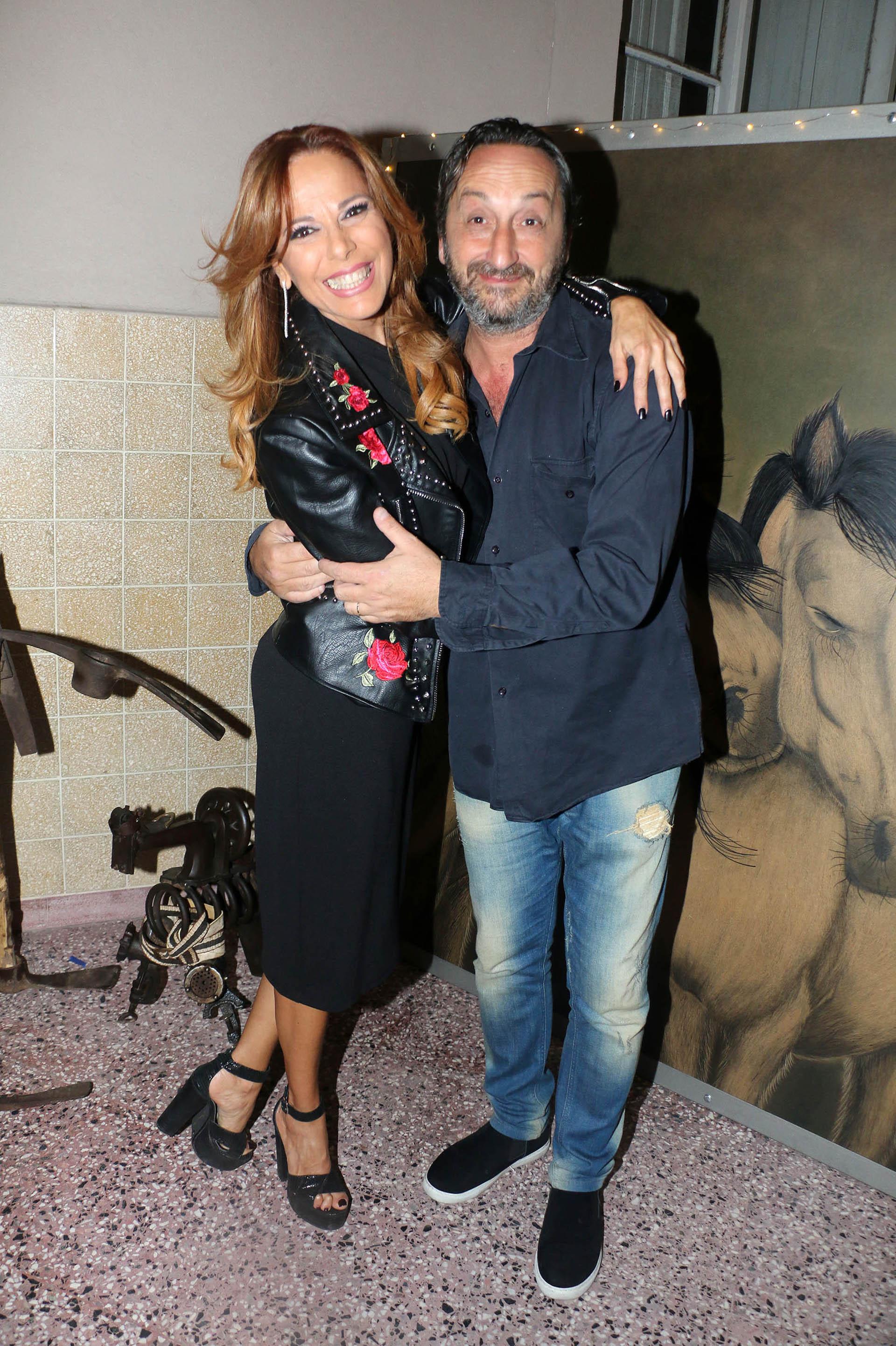 Iliana Calabró y Antonello Grandolfo