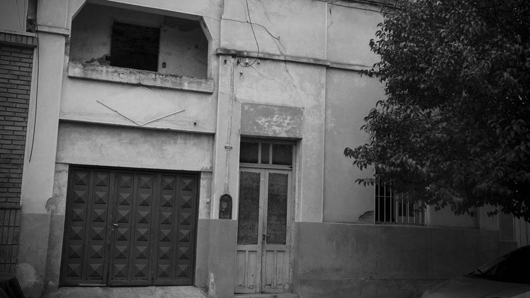 La vivienda de la calle Achával Rodríguez (hoy Fructuoso Rivera) 1035/1039 del Barrio Observatorio de Córdoba donde se ocultaba la imprenta guerrillera