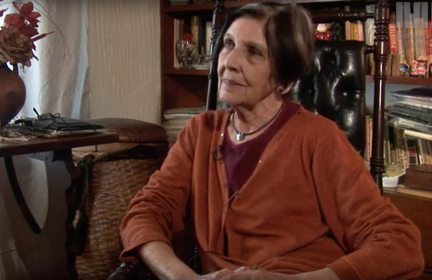 Marta García de Candeloro sobrevivió; su esposo, José Candeloro, está desaparecido (Archivo de la Biblioteca Nacional)