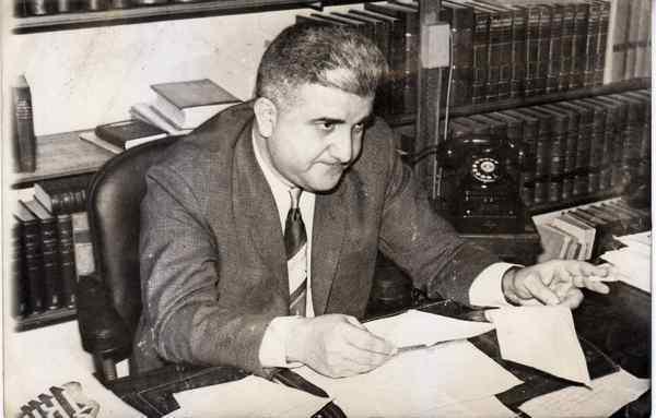 Norbeto Centeno fueredactor de la Ley de Contrato de Trabajo del peronismo de la década de 1970.(Colegio Publico de Abogados Capital)