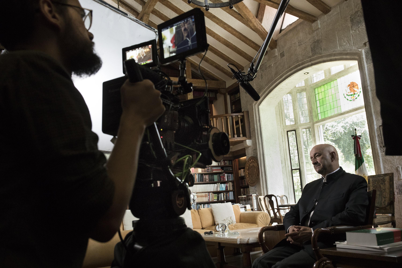 El documental se grabó con plena libertad creativa y editorial, mencionó Diego Enrique Osorno (Foto: Netflix)