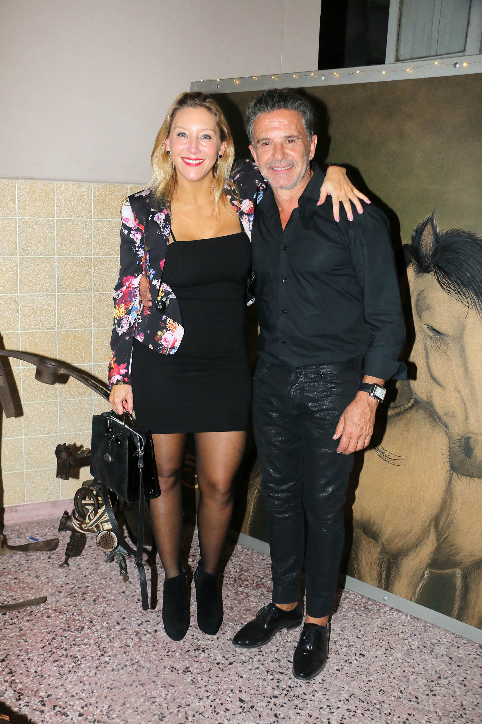 Daniela Lopilato y Osvaldo Laport