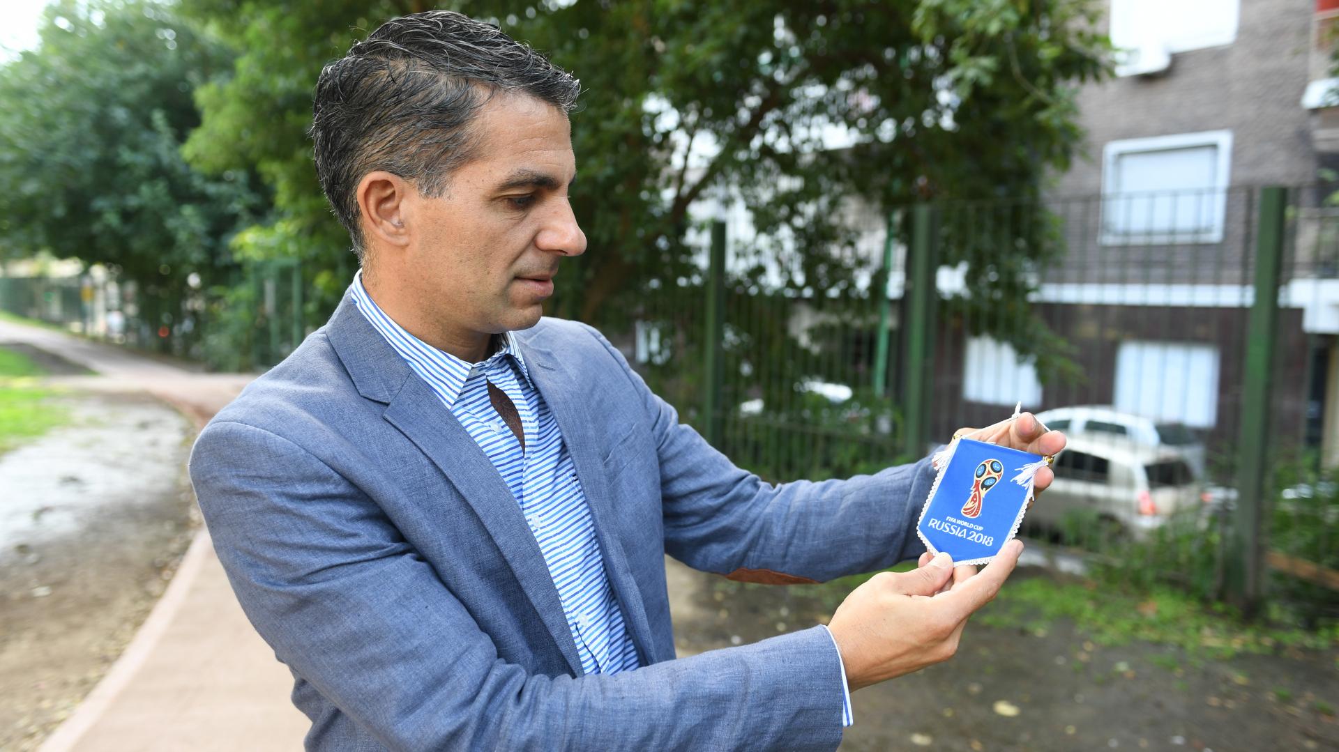 Maidana es el árbitro asistente con más partidos dirigidos en mundiales: fueron 13 en tres Copas (Maximiliano Luna)