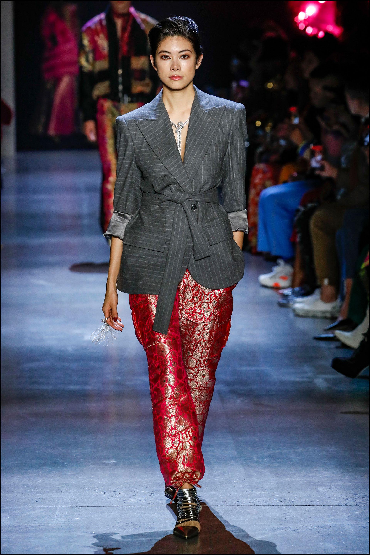 """""""New York Fashion Week"""": Prabal Gurung."""