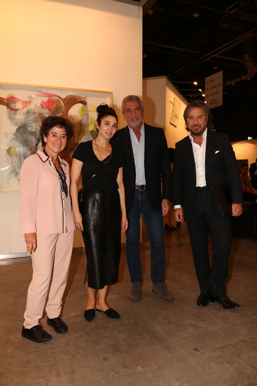 Orly Benzacar, Yanina Solnicki, Daniel Awada y Claudio Cerini