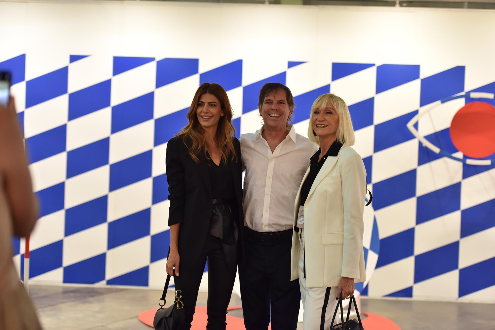 Juliana Awada, Alec Oxenford y Teresa Frías