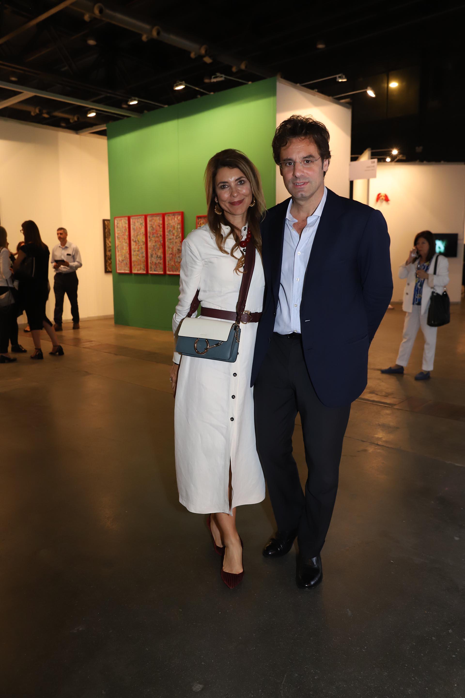 Ludovico Rocca y su mujer Adriana Batan de Rocca