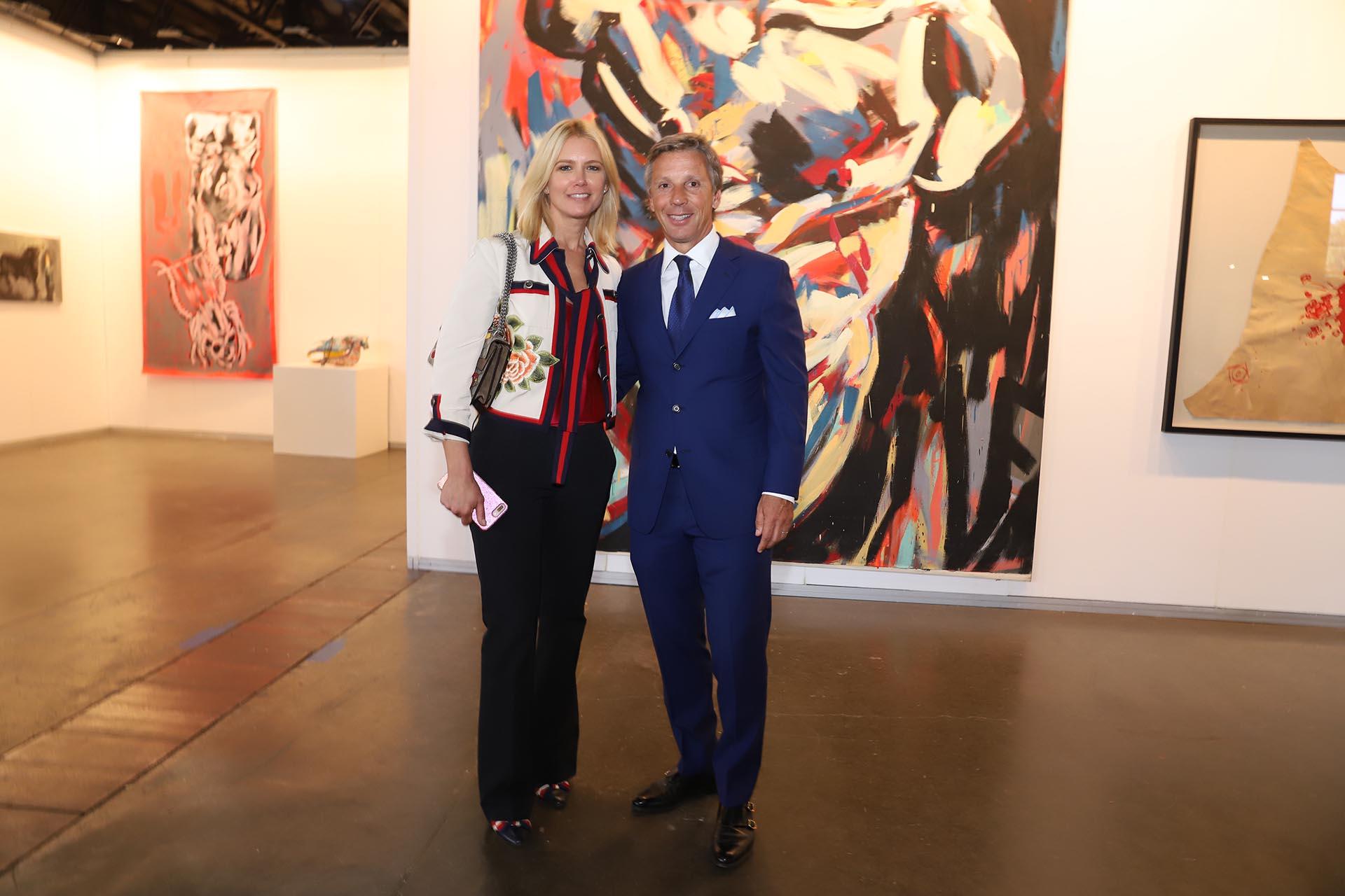 Valeria Mazza y Alejandro Gravier