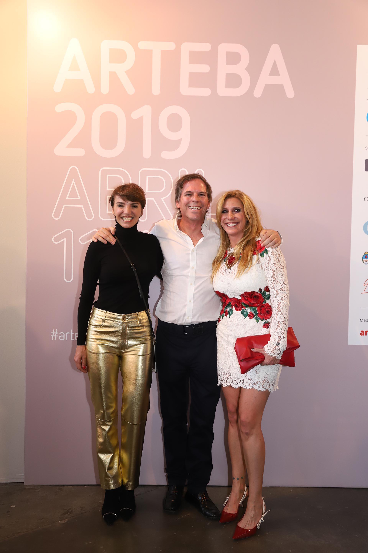 Bárbara Diez, Alec Oxenford y Amalia Amoedo