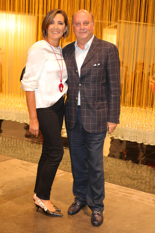 Martín Cabrales y su pareja Dora Sánchez