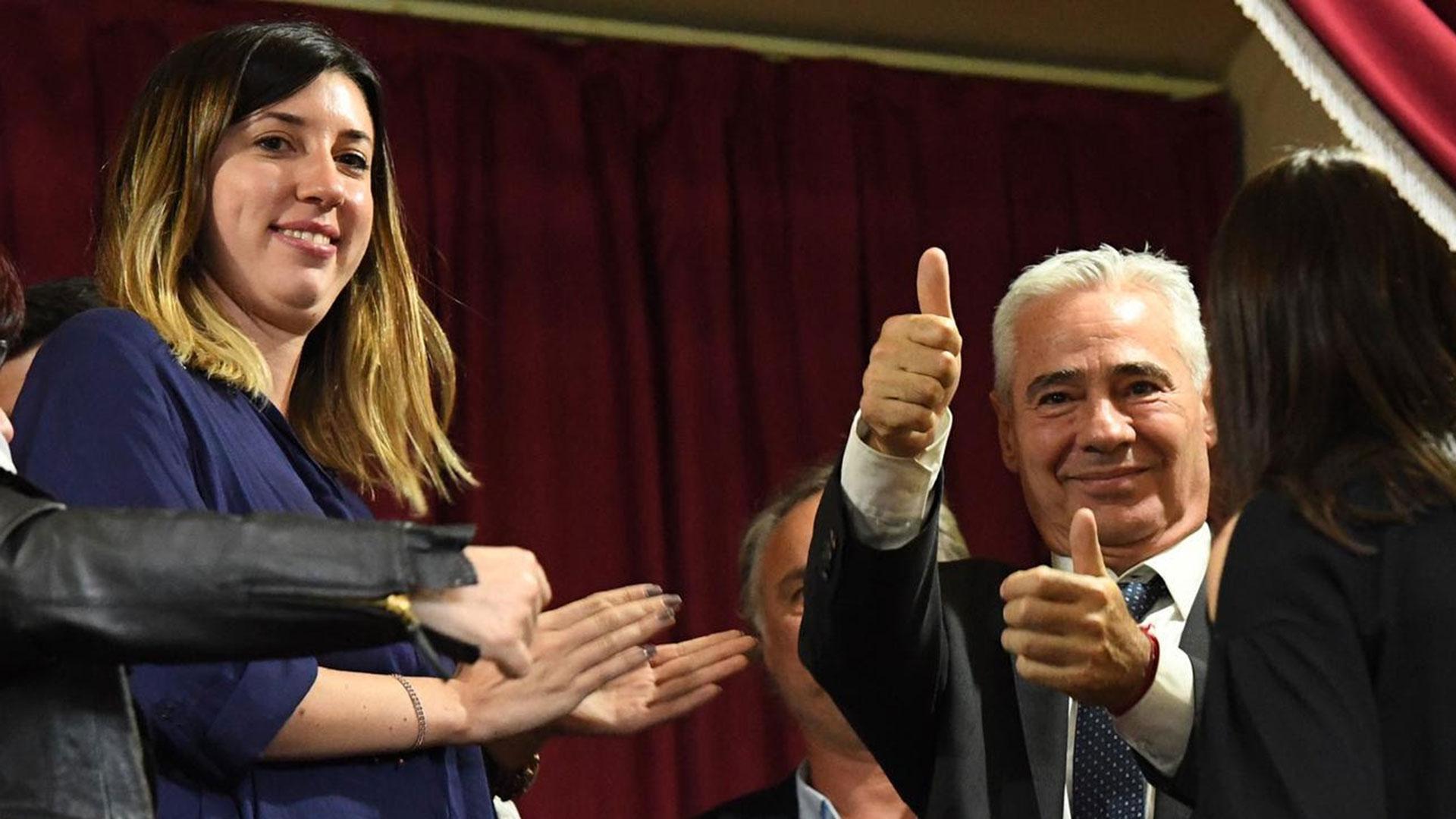 Torres en la Legislatura provincial, cuando se votó su pliego (Prensa Senado BA)