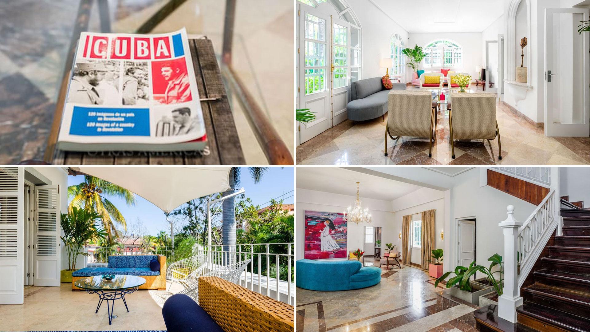 Las 30 fotos de la lujosa mansión que alquila la nieta de Raúl Castro en La  Habana - Infobae