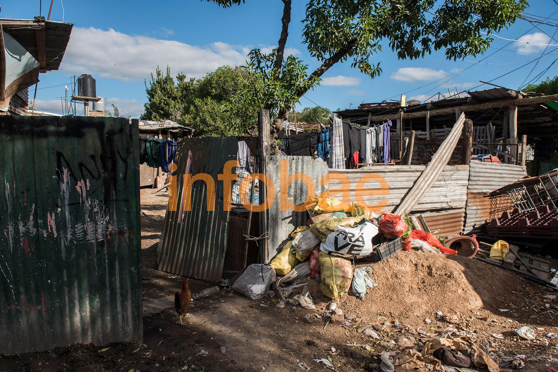 La vivienda de Isabel, tía de la víctima,marca la extrema pobreza en la que viven a diario