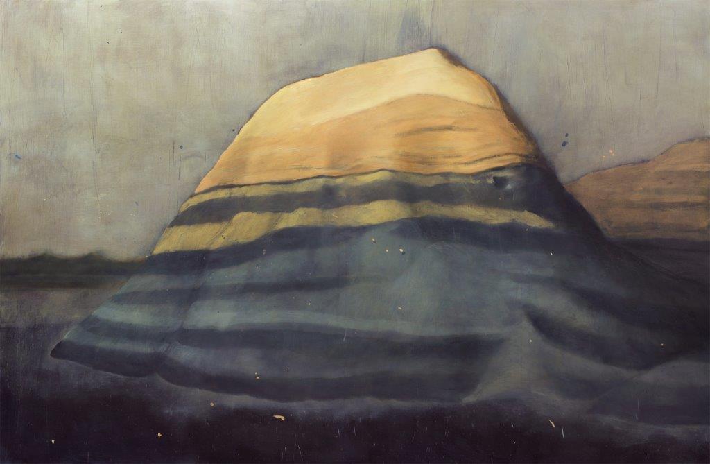 """Una de las obras escogidas, una parte de la serie """"Bad Lands"""", de Alejandro Campins."""