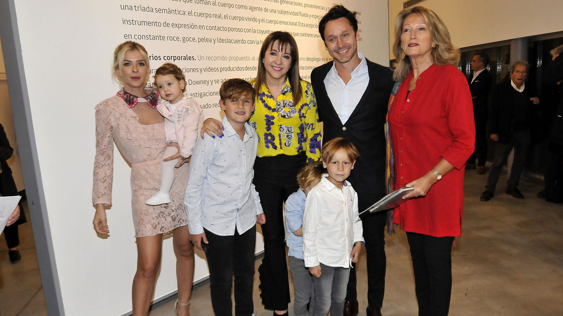 Benjamín Vicuña recibió una distinción en la Embajada de Chile en la Argentina (Fotos: Verónica Guerman/Teleshow)