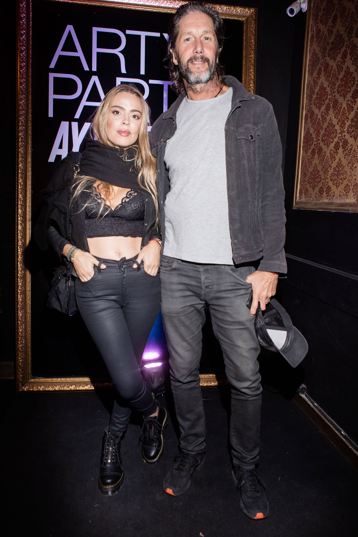 Eduardo Celasco y su pareja Florencia Fiorini