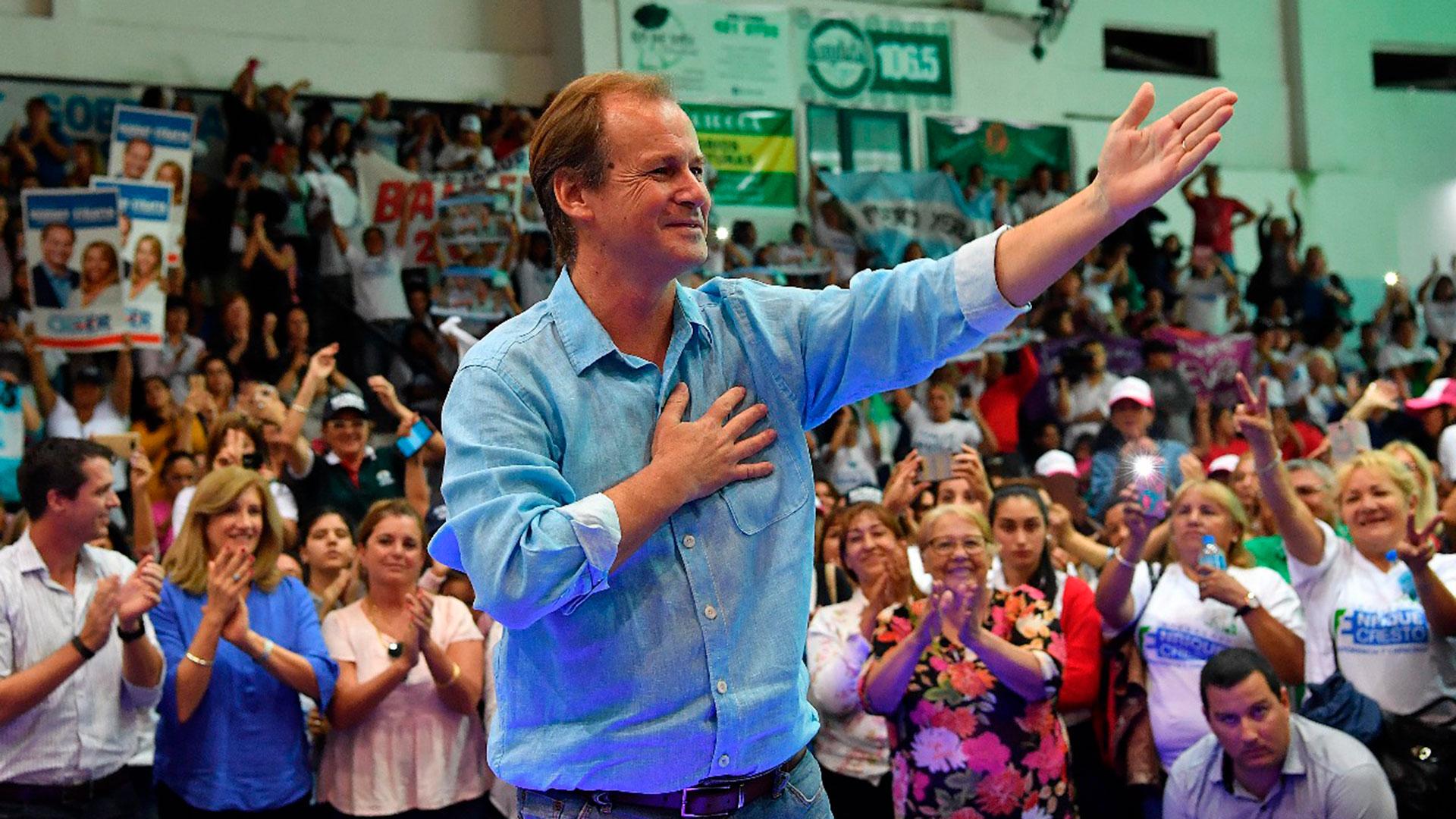 El gobernador Gustavo Bordet, beneficiado por la unidad del peronismo, se perfila como candidato más votado en las PASO