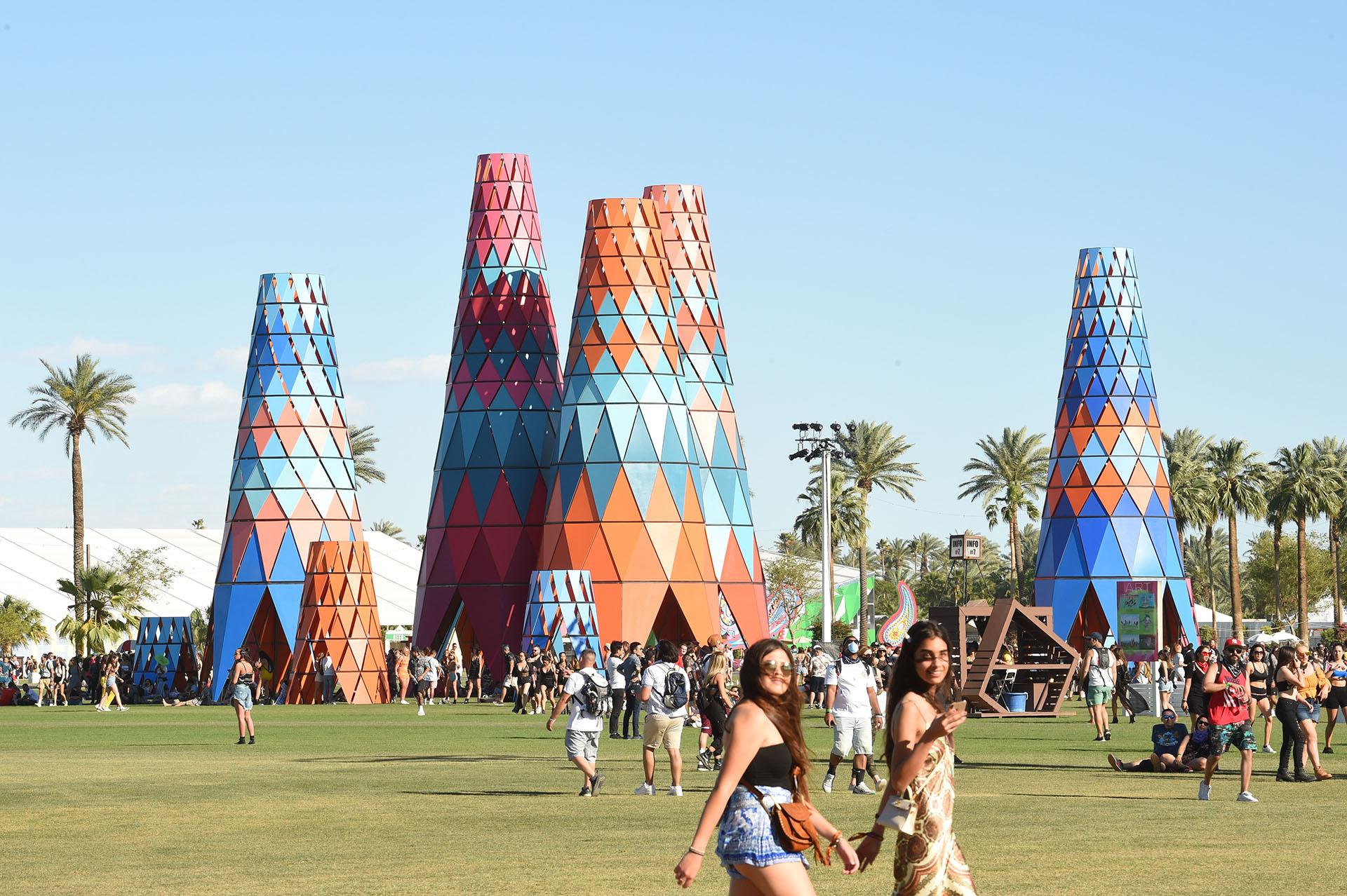 En Indio, California se monta el festival Coachella, el considerado más hippie chic del mundo, donde las tendencias se reúnen en un solo lugar