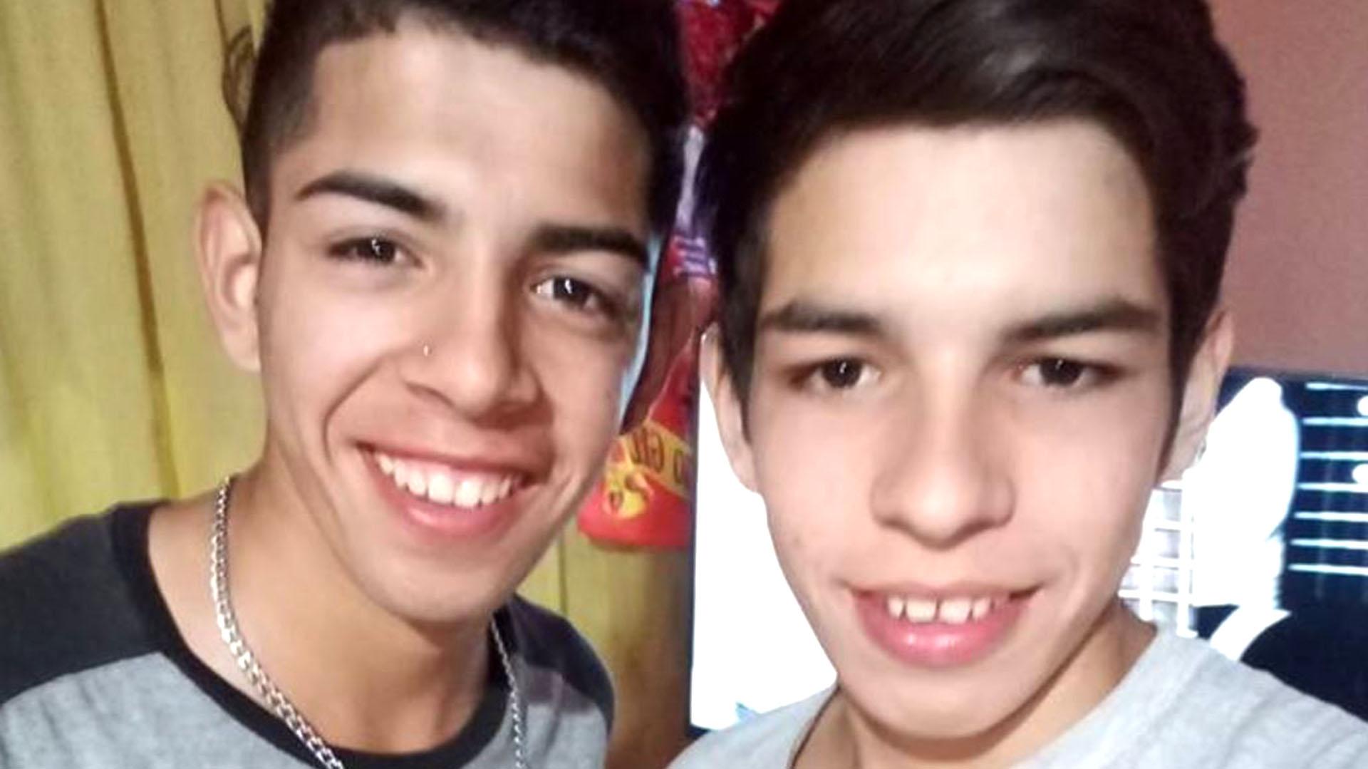 Laureano y Octavio Joel Coria, dos de los acusados.