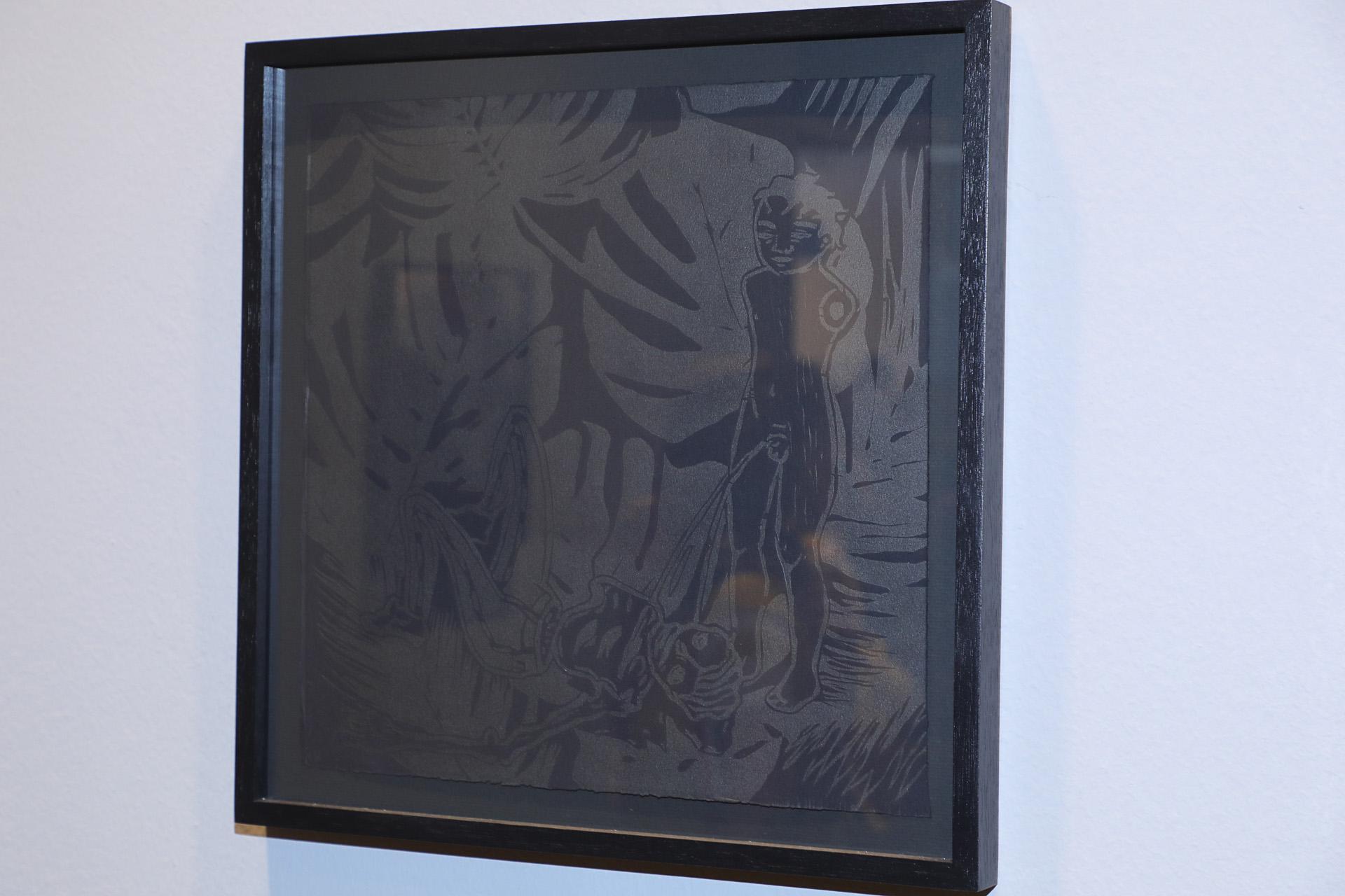 Obra del guatemalteco Nahuel Ramírez Figueroa (Christian Bochichio)