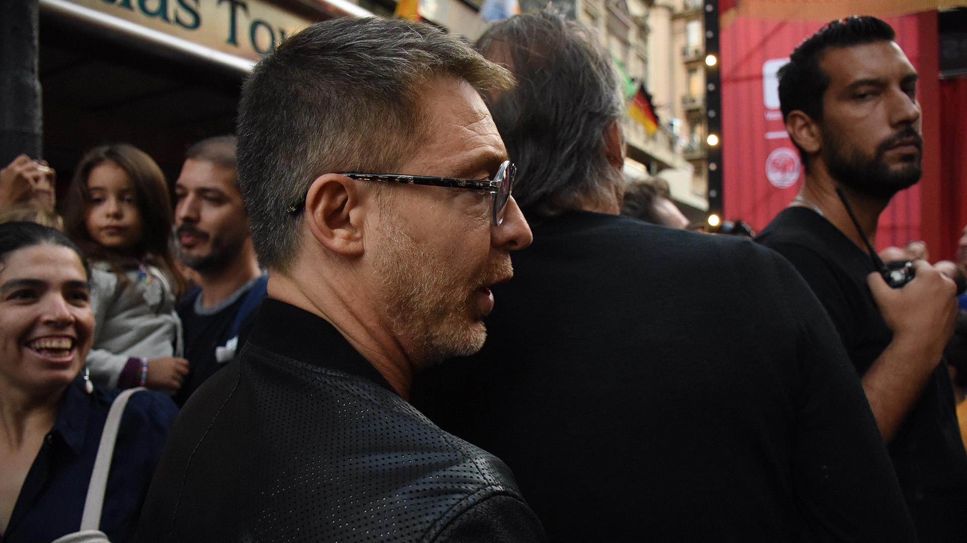 El productor y actor Adrián Suar también dijo presente